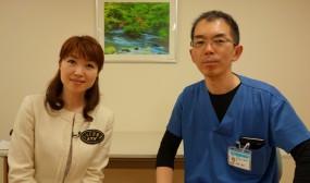 リポーターの千葉美佳さんとのツーショット。相変わらずお綺麗でした。