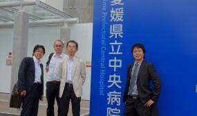 視察メンバーは昨年の長崎・大分視察の時も一緒だった村上さん、佐藤さん、三浦さんの4名です。