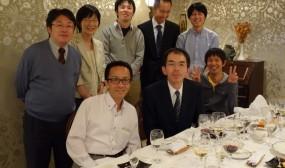 講演会終了後に庄内病院と日本海病院の皆さんと。